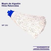 Mopin De Lavado Algodon Retorcido 280 Grs. Hilos Cortados