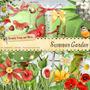 Kit Imprim. Summer Garden ¡todo Para Armar!