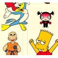 10000 Dibujos Cartoons Vectorizados - P/ Estampar Remeras