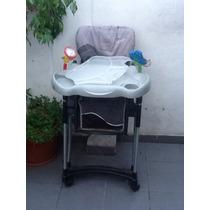 Silla De Comer Infanti Como Nueva Con Dos Juguetes