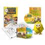 Combo 1 Las Canciones De La Granja Dvd + Cd + Libro