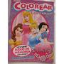 Libros Colorear Princesas Violetta Barbie Souvenir Gabym