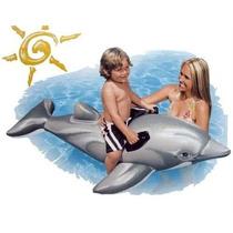 Delfin Inflable Gigante + Inflador De Regalo, Imperdible!