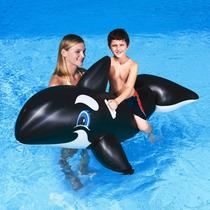 Bestway Ballena Orca Grande Gigante Inflable Flotador Pepino