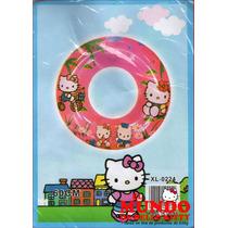 Salvavidas Circular De Kitty - El Mundo De Hello Kitty