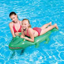Cocodrilo Flotador Bote Inflable Bestway Ideal Pileta Colcho