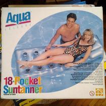 Colchoneta Inflable Bronceadora Aqua Leisure   193 X 74 Cm