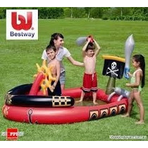 Pileta Niños Pirate Play Pool 53041bestway