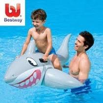 Tiburon Inflable 185 X 112 Cm. Con Agarraderas -best Way -