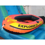 Bote Inflable Con Remos