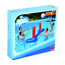 Set Volley Inflable Red Y Pelota Bestway Sheshbesh
