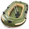Bote Inflable Voyager 300 + Remos De Aluminio Bestway Pesca