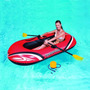 Bestway Bote Gigante Inflable Remos Inflador 196x114 Pepino