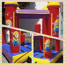 Castillo Inflable Minnion Personajes