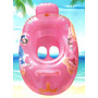 Bote Inflable Salvavidas Flotador Infantil Princesas Disney