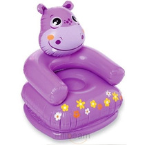 Sillon Inflable Hipopotamo + Inflador, Imperdible!