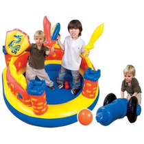 Centro De Juegos Castillo Saltarin Inflable Intex Ball Toyz