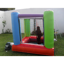Castillo Inflable Pelotero 2x2 Ideal Espacios Reducidos 3