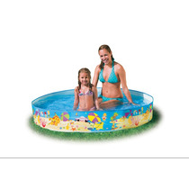 Pileta Rigida Enrollable Intex 152 X 25 Cm Bebe Niños - R2