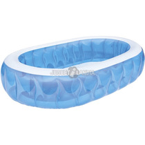 Pileta Inflable Elíptica Azul 152 X 234 X 51cm Bestway 54066