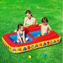 Bestway Pileta Inflable Doble Bebe Infantil Balcon 155x104