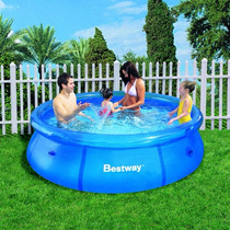 Educando Pileta Best Way Inflable 305cm Aire Libre 57009