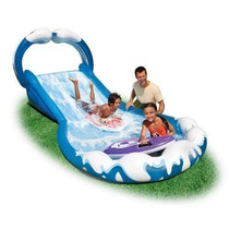 Tobogan Inflable Deslizador Surf Intex Gigante Mas Regalo