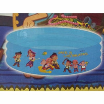 Pileta Inflable 3 Anillos 74cm X 30cm Jake Y Los Piratas Ori
