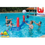 Espectacular Voley Inflable Con Red Y Pelota Bestway Jiujim