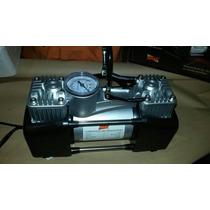 Compresor Para Inflar Gomas Doble Cabezal 12 V Ideal 4x4.