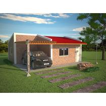 Casa Ladrillo Construcción Rápida Prefabricada Venta
