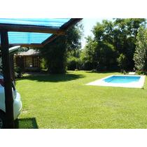 Villa Rumipal,vacaciones De Invierno!!alquilo Casa P/6 Y/o Cabaña P/4 Con Pileta