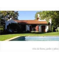 Ideal Fin De S. Santa Dueño Alq. Quinta Con Pileta P/6 Pnas