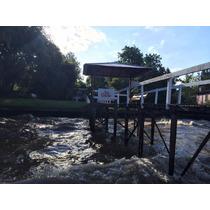 Casa En Tigre Sobre Rio Sarmiento, Muelle Propio Y Piscina