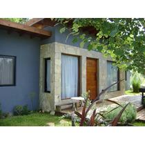 Casa Con Pileta En Las Gaviotas (mar Azul) Febrero