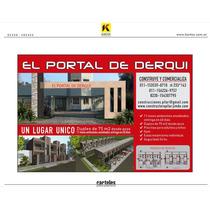 Mono Ambientes Y Duplex En Derqui / Pilar