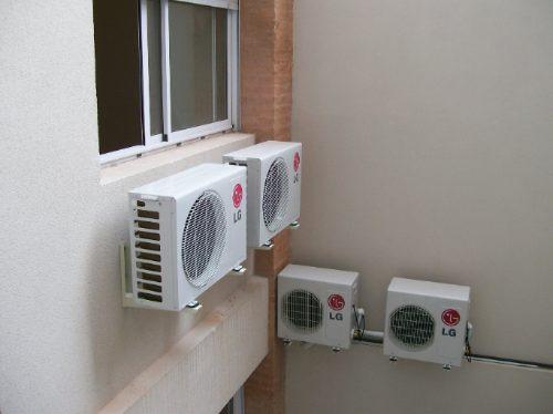 Instalaci n aire acondicionado split matriculado for Instalacion aire acondicionado sevilla