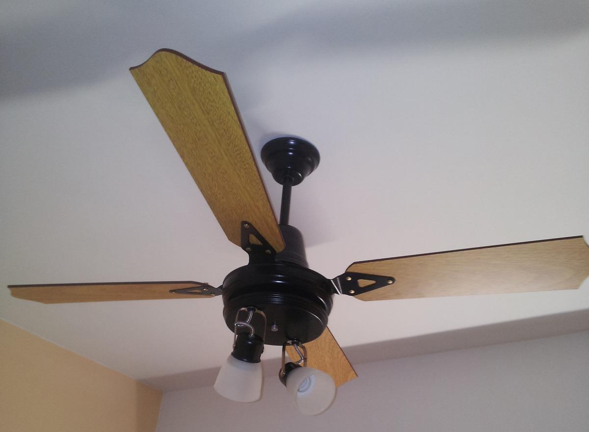 Instalacion colocacion de ventiladores de techo lu ce s - Ventiladores de techo rusticos ...