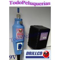 Torno Profesional De Mano Micro Drillco Roller 9 V 20000 Rpm