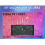Kit Decoracion De Uñas Fibra Toray X 5 Pinceles Heburn