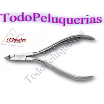 Alicate Corta Cuticula Profesional 3 Claveles 6524 * España