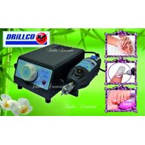 Torno Profesional Drillco Microdrill 057 Manicuria Podologia