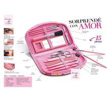 Pink Beauty Set X 15 Piezas + Estuche Avon Fashion&home