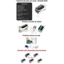 Saturometro Oximetro De Pulso Adulto Y Pediatrico
