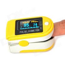 Oximetro Saturometro De Pulso Con Curva + Bolso Correa Pilas