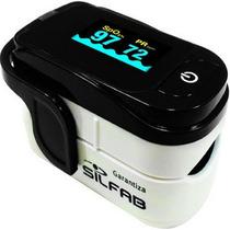 Oximetro Profesional Saturometro Silfab P/ Adulto Niños Full