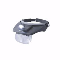 Vincha Lupa Cabeza Binocular Galileo Tusculum Luz Aumentos