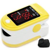 Oximetro Digital De Pulso - Saturometro Estuche Y Correa