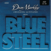 Cuerdas Guitarra Dean Markley Blue Steel 2555 Jazz 12-54