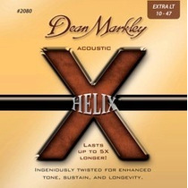 Cuerdas Guitarra Dean Markley Helix Acoustic 2080 Xl